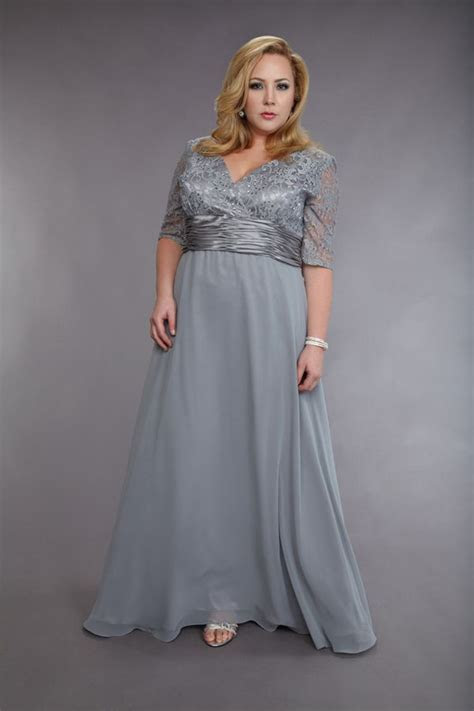 mother of groom dresses for summer wedding     Plus Size