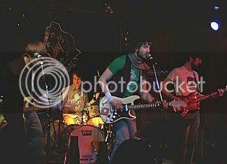 The Parkas @ Healey's: photo by Mike Ligon