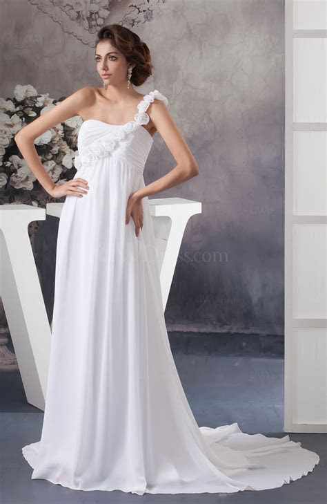 White Allure Bridal Gowns Inexpensive Full Figure
