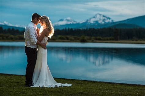 Laurie and Brett   Black Butte Ranch Wedding   Jessica