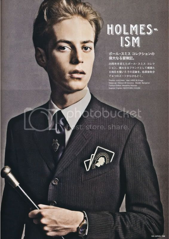 GQ Japan #84 May 2010 - Holmes-ism @ StreetStylist.Guy