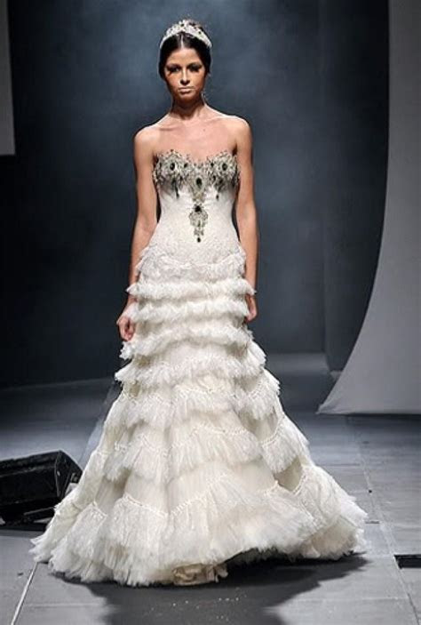 Dress   Michael Cinco #2047156   Weddbook