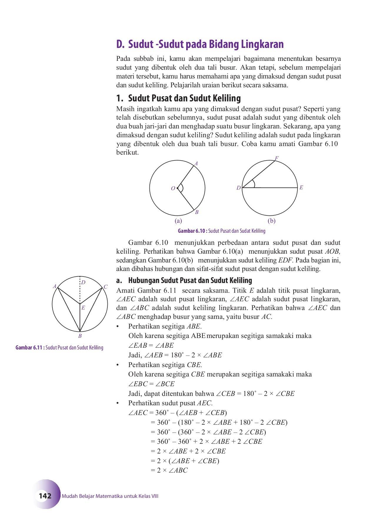 Mudah Belajar Matematika kelas VIII Pages 151 200 Text Version