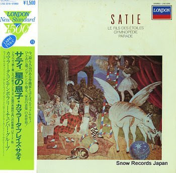 CAMARATA CONTEMPORARY CHAMBER GROUP satie; le fils des etoiles