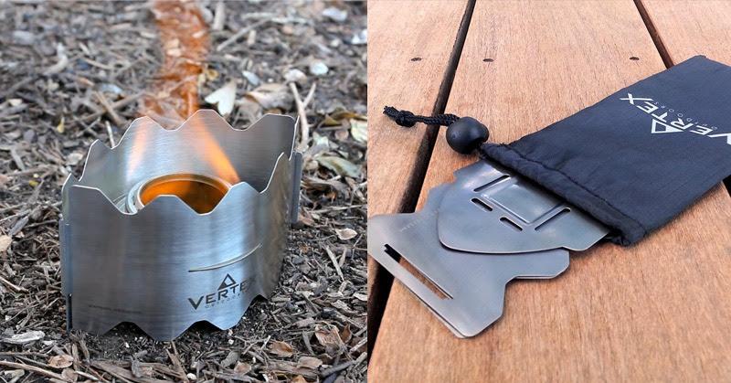 Vertex Ultralight Backpacking Stove Off Grid