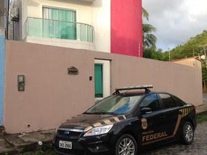 Casa onde ex-prefeito morava na Bahia (Foto: Divulgação/Polícia Federal)