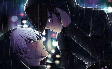 Desktop Wallpaper Ken Kaneki, Touka Kirishima, Anime