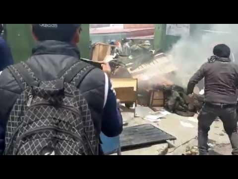 Bolivia: Daño a unidades policiales alcanza Bs150 millones
