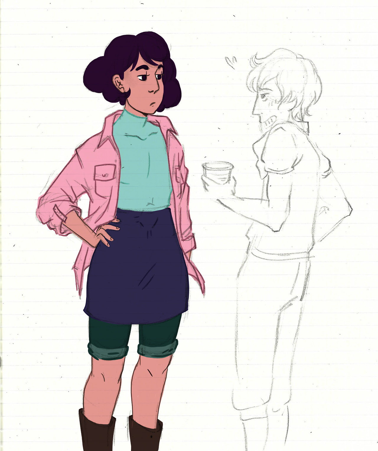 Can't wait to see Stevonnie with Connie's short hair 💕