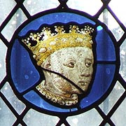 Medieval Stained Glass featuring Richard, Duke of York - © Nash Ford Publishing