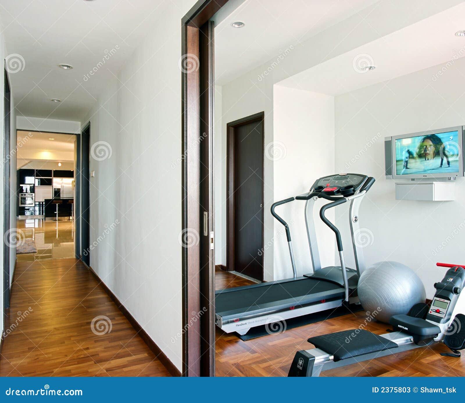 Modern Home Design: Gym Interior Design