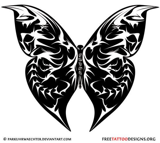 Butterfly Tattoo Gallery