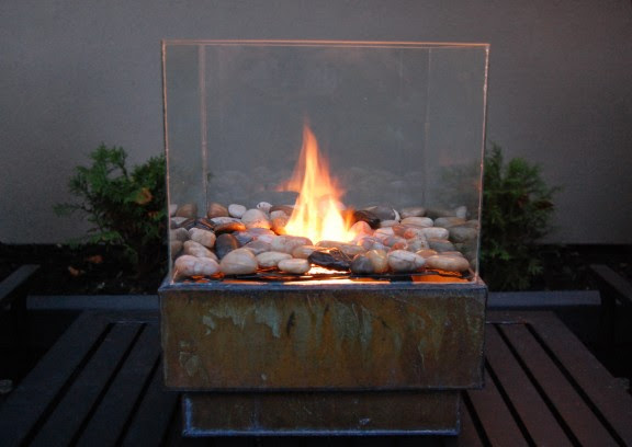 DIY Portable Outdoor Fire Pit | Shelterness