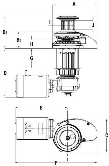 Wiring Diagram  28 Maxwell Windlass Parts Diagram