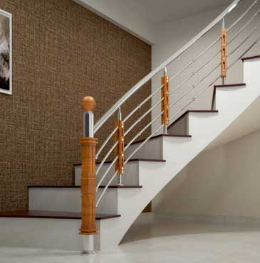 Stainless Steel Staircase Handrail Design Kerala Photos Freezer