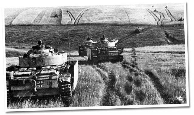Dinonicus operate alongside tanks during Operation Barbarossa