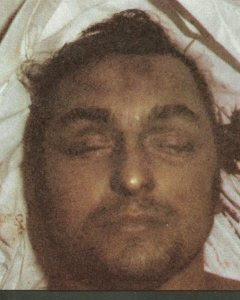 Cuerpo de Joseba Arregi, muerto por torturas.