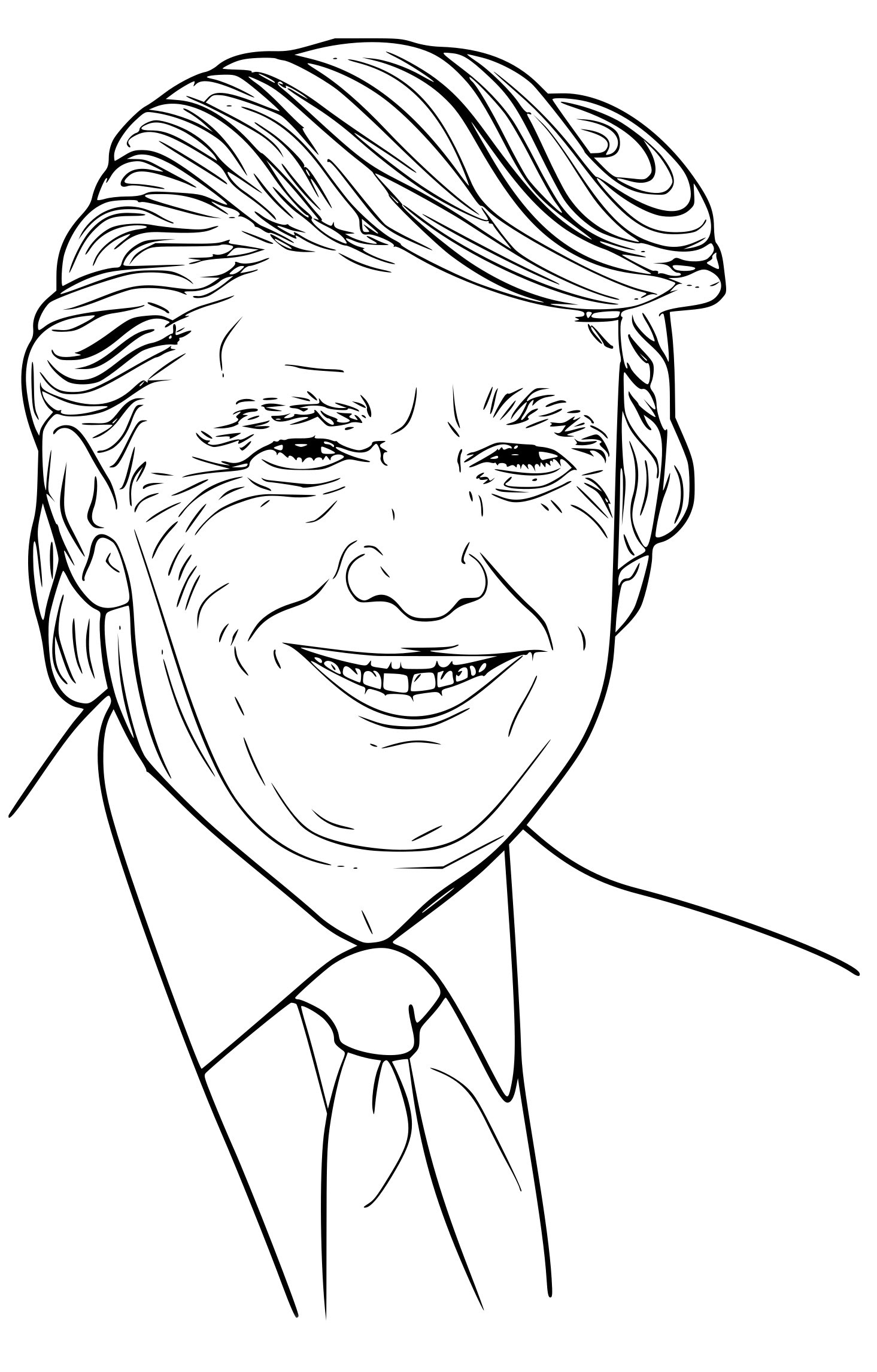 coloriagedonaldtrump