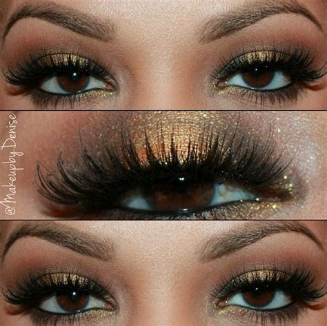 Hermoso maquillaje para los ojos cafes!!   G   Pinterest