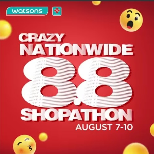 Watsons Crazy Nationwide 8.8 Shopathon