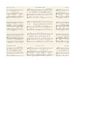 A2 card size JPG Christmas GF Vintage sheet music SMALL SCALE