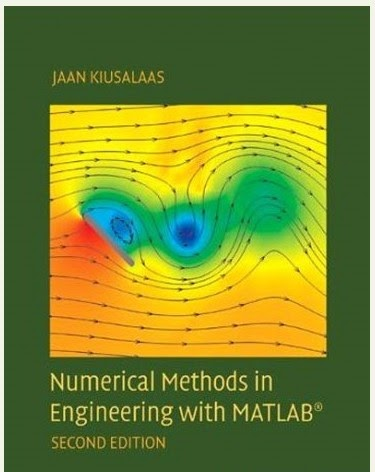 With numerical matlab methods pdf