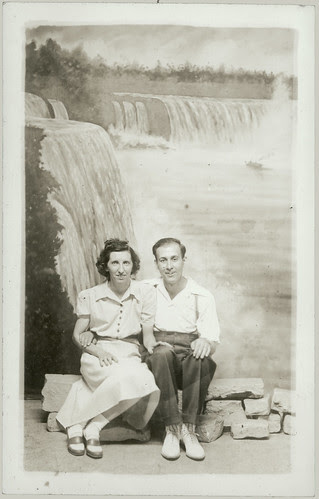 Couple and falls