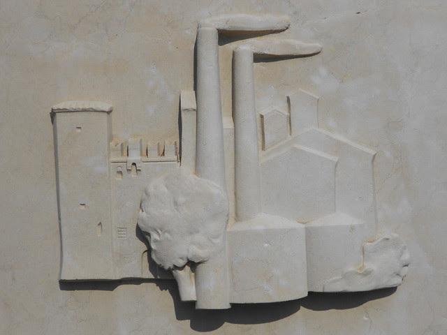 fontana Virgilio Milani, stazione di Rovigo, dettaglio 6