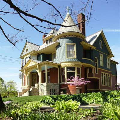 Winner: Colorful Queen Anne Restoration: After from this old house curb appeal finalists 2012