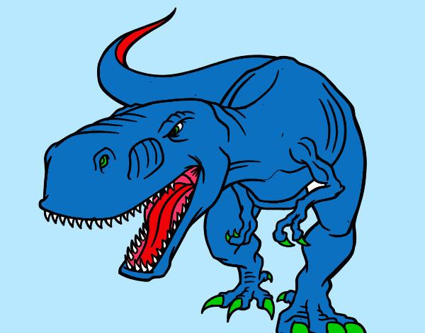 Dibujo De T Rex Pintado Por Puas13 En Dibujosnet El Día 05 09 12 A