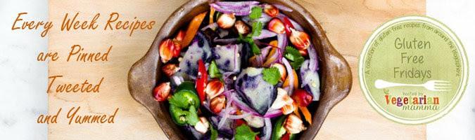 Gluten Free Fridays at @vegetarianmamma.com
