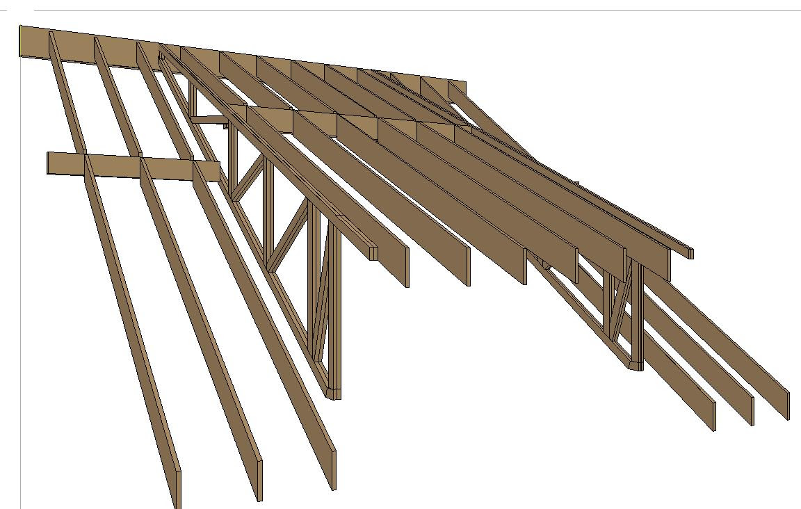 Loen Shed Building Trusses For A Shed Roof