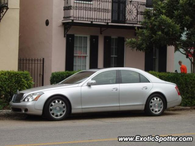 Mercedes Maybach spotted in Charleston, South Carolina on ...