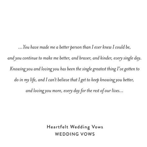 Heartfelt Personal Wedding Vows For Him And For Her   Weddbook