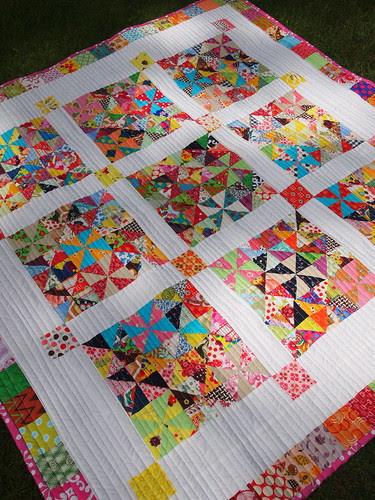 scrappy pinwheel playmat