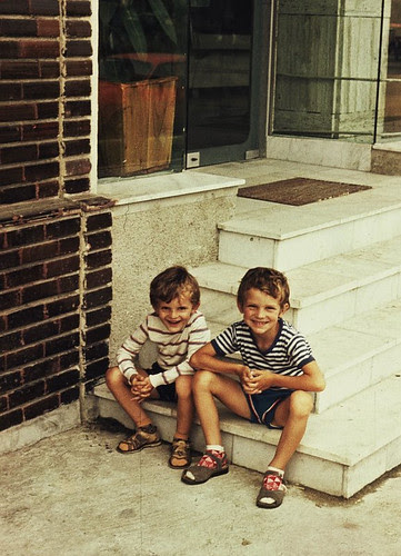 the old times (me and my brother)