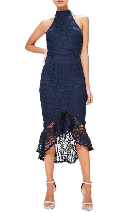 Trendy Lace Bodycon Dresses For Summer Wedding Guests