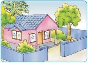 51 Gambar Rumah Bersih Dan Sehat Kartun Gratis Gambar Rumah