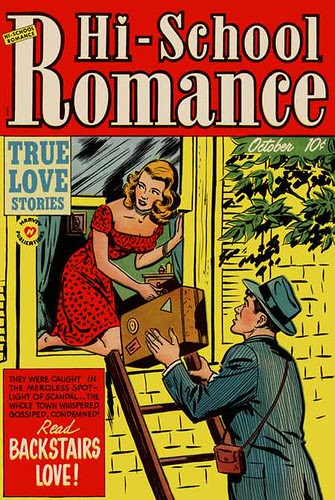 Hi-school romance 11 (Harvey, 1951)