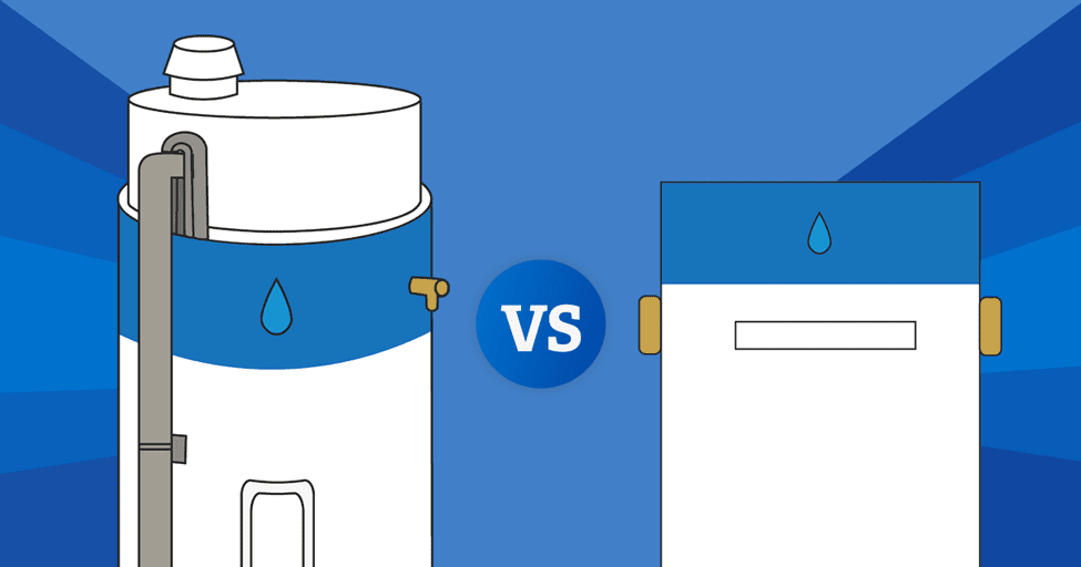 Tankless vs. Traditional Water Heaters | Which is More ...