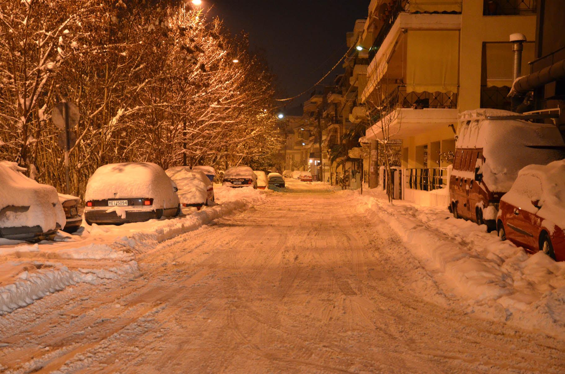 Λαρισα χιονι (10)