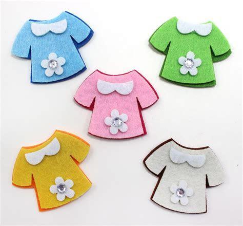 """Maple Craft   1 1/2"""" Stiffened Felt 2 Tone Baby Shirt"""