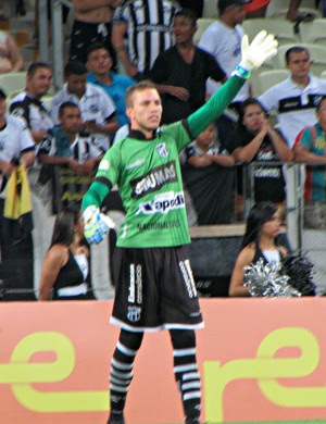 Luís Carlos, goleiro, Ceará (Foto: Juscelino Filho)