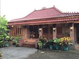 Sketsa Rumah Jawa