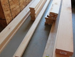 DIY King Size Bed - Materials