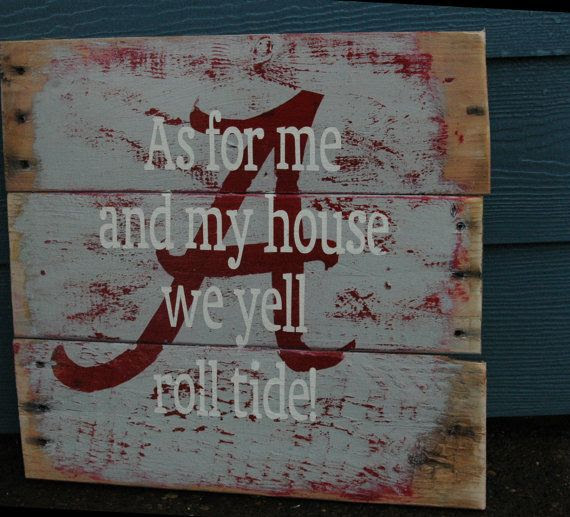 wood by painted Etsy, signs AllMyGoodness ALL rustic $36.00 PAINTED Alabama sign  Rustic on