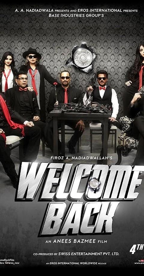 Welcome Back (2015) 480p 720p 1080p BluRay Hindi Full Movie
