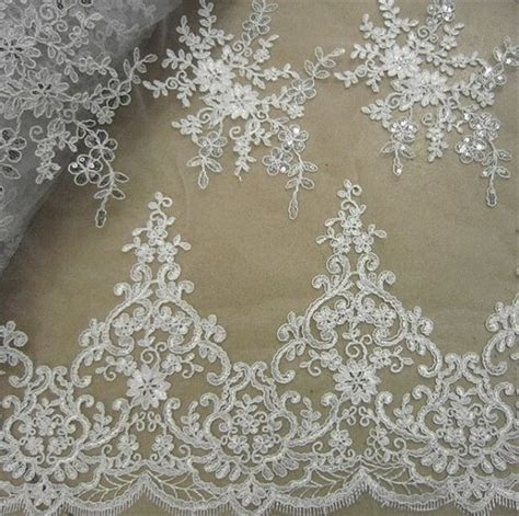 Wedding Lace Fabric, Embroidery Lace Fabric, Corded Lace