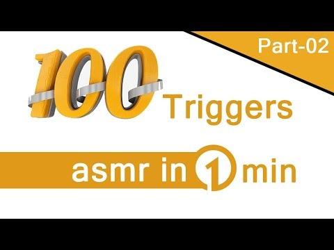 100 triggers asmr in 1 min [Part - 02] Maditation On Sleeping