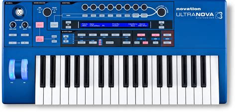 ultranova keyboard synthesizer synthtopia